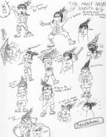 ..many faces of shikamaru.. by cookie-zombie001