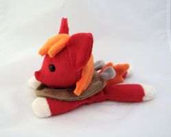Big Macintosh beanie by PlanetPlush