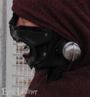 Tokyo Ghoul Eyepatch Leather Mask - Profile by Epic-Leather
