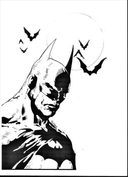 Batman by NatBam