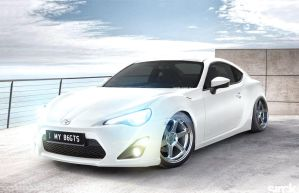 Toyota GTS 86 by small-sk8er