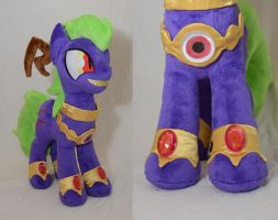 Midnight DevilWitch Blingbling Plush by makeshiftwings30