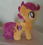 Scootaloo plushie for Sale by SiamchuchusPlushies