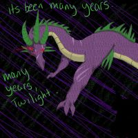 MLP: Fim- Generations of a Dragon (Future Spike) by TheBroken-Glass