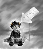 Karkat by ThroughSpaceAndTime
