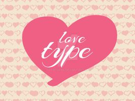 LoveType- Font by snkdesigns