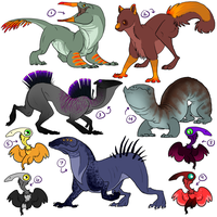 Cute+Creepy Critters - Point Adoptables by Jennilah