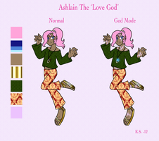 Ashlain the Love God by The-Clockwork-Crow