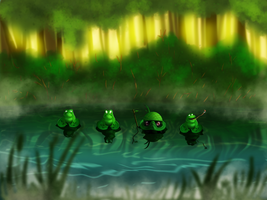 funny frogs by FoXsPhotos