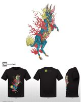 Mythical Creatures T-shirt design contest by noshield49
