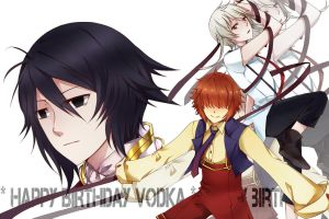 HBD:: Vodka by shiroisuisei