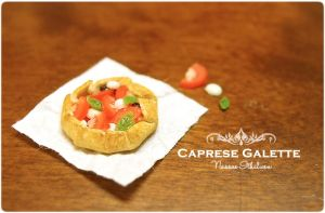 Caprese Galette by Nassae