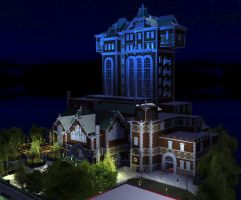 Hotel Hightower in RTC3 by Coasterdl