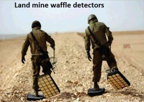 Land mine waffles. by The--Mad--Russian