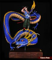 Dragon Ball Z diorama-Fabricio Works by FabricioWorks