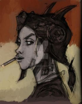 tank girl by T-S-Lim