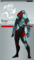 Warframe: Flux Dragon Full Body Sygil by Liger-Inuzuka