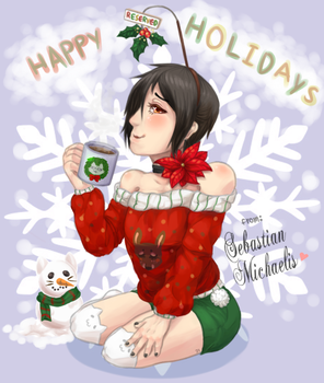 Such a jolly Holiday~ by Jiji-da-cool