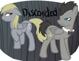 Discorded Doctor and Assistant by Fire-Girl872