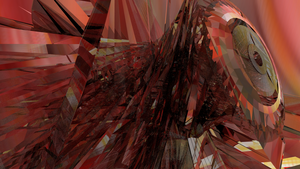 Abstract Red Power by SemjonB