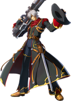 Project x zone Haken browning Render by Redchampiontrainer01