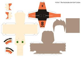 papercraft - Holland World Cup by Furesia