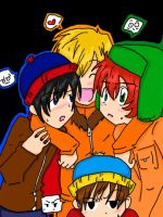 Colored SP lineart READCOMMENT by fuyumi-kun
