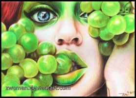 Just Grapes by zwoman
