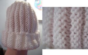 White Baby Hat of DOOM by cyla-knits