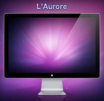 l'aurore Dark wallpaper by Lukeedee