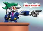OBJECTION? I don't think so by darkoakster
