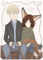 Spice and Wolf: Silvie and Robert by LadySilvie