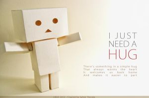 Danbo need a Hug by sirus3002