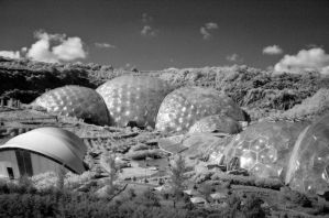 Eden Project Infrared by drr104