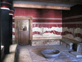 Crete Knossos room by elodie50a