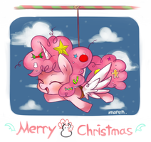 Merry Pinkiemas? by Marenlicious