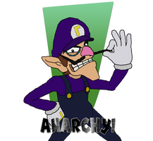 Waluigi ANARCHY by Mario9919