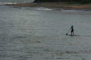 Paddle Surfer by Witch-Hunter-87