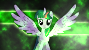 Nuclear Twilicorn Wallpaper by RDbrony16