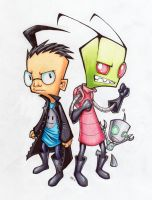 Invader Zim by AtomicRay