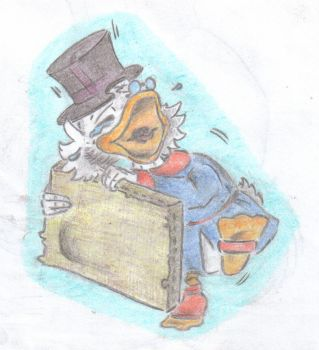Scrooge and Paint by Plawce by TheScroogeCrew