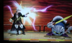 SSB4 - Two swords?, Cool. by Rotommowtom