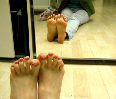 Mirror Image 2 by Foxy-Feet
