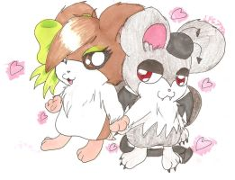 AT: Spatty+Mimi by Lolly-pop-girl732