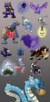 Zelda-Style Pocket Monsters by Snowbound-Becca