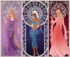 Goddess Princesses Part 2 by LuvHades5