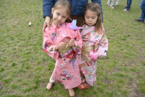 Japanese Festival,Dressed In Traditional Kimonos8 by Miss-Tbones