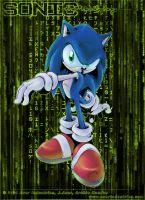Sonic Matrix -colored- by Merokosart