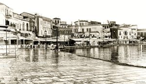 The Chania old port v2 by BillyNikoll