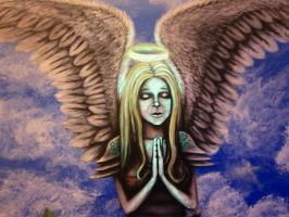 Angel by PsychicMindWars777
